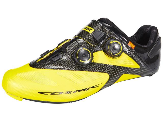 Mavic Cosmic Ultimate II Shoes Unisex Yellow Mavic/Black/Black